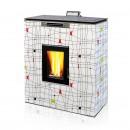SENKO - Peć na pelete P12 SLIM GLASS DESIGN WATER+AIR MODERN 2806 13 kW